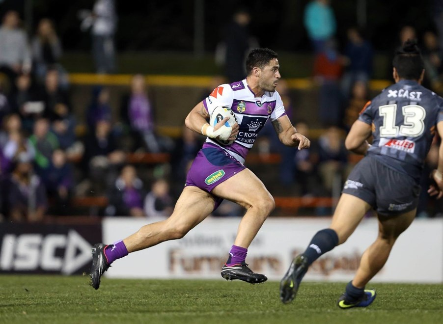 Jesse Bromwich : NRL Rugby League - Tigers V Storm at Leichhardt Oval, Friday July 31st 2015. Digital Image by Robb Cox ©nrlphotos.com