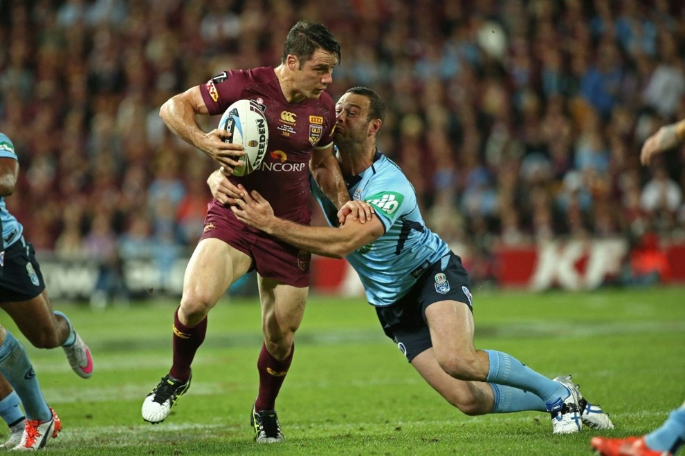 Cooper Cronk   Digital Image by Brett Crockford ©nrlphotos.com :	    NRL, Rugby League, State of Origin 3,  Queensland v New South Wales @ Suncorp Stadium, Brisbane, QLD Wednesday 08 July, 2015.