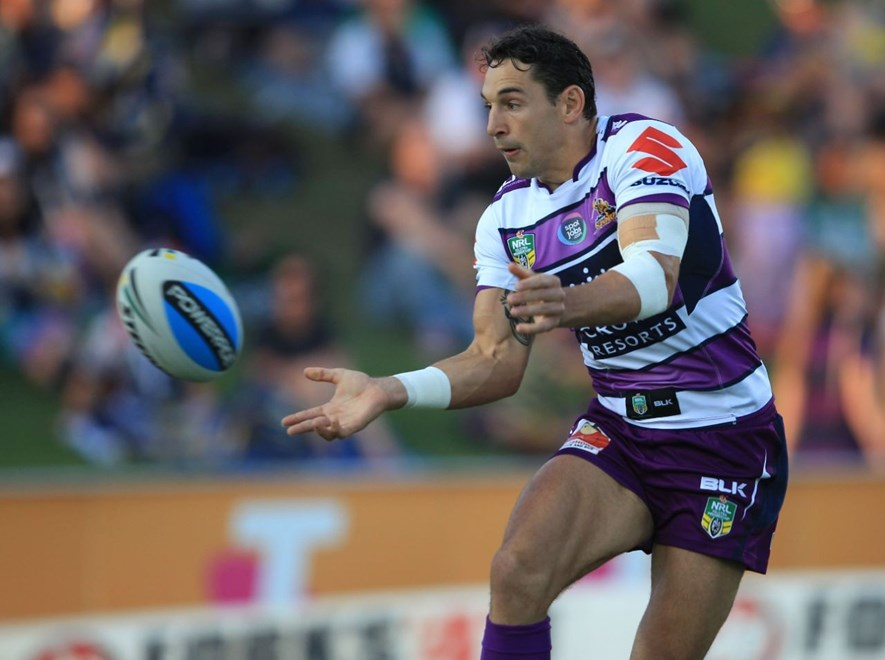 :	Digital Image by Colin Whelan copyright © nriphotos. NRL Rugby League, North Queensland Cowboys v Melbourne Storm at Townsville, Monday March 30th 2015.