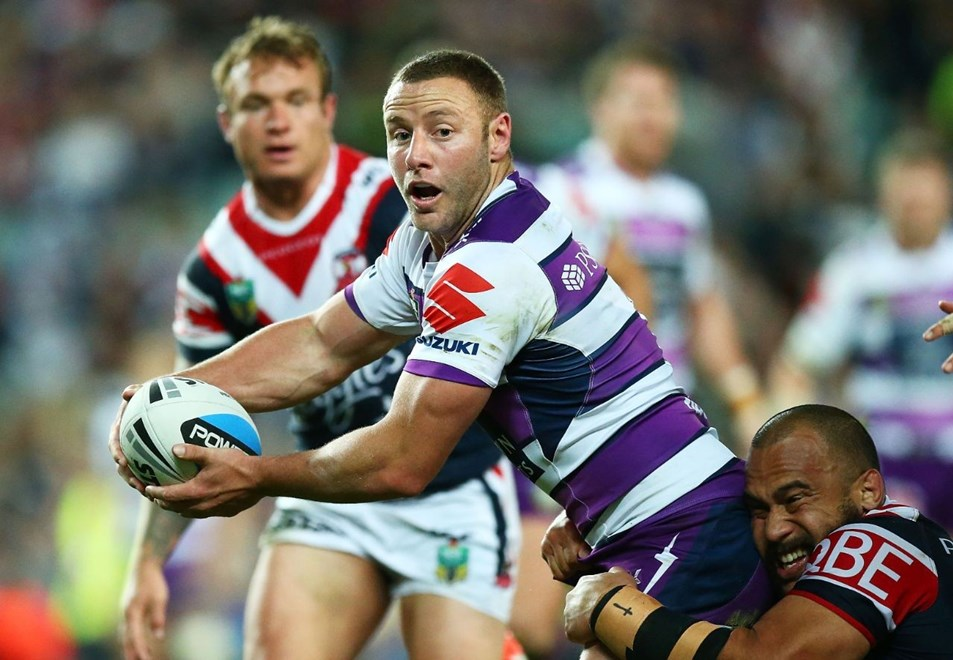 Blake Green of the Storm : NRL week one finals match between the Sydney Roosters and the Melbourne Storm at Allianz Stadium on September 11, 2015 in Sydney, Australia. Digital Image by Mark Nolan.