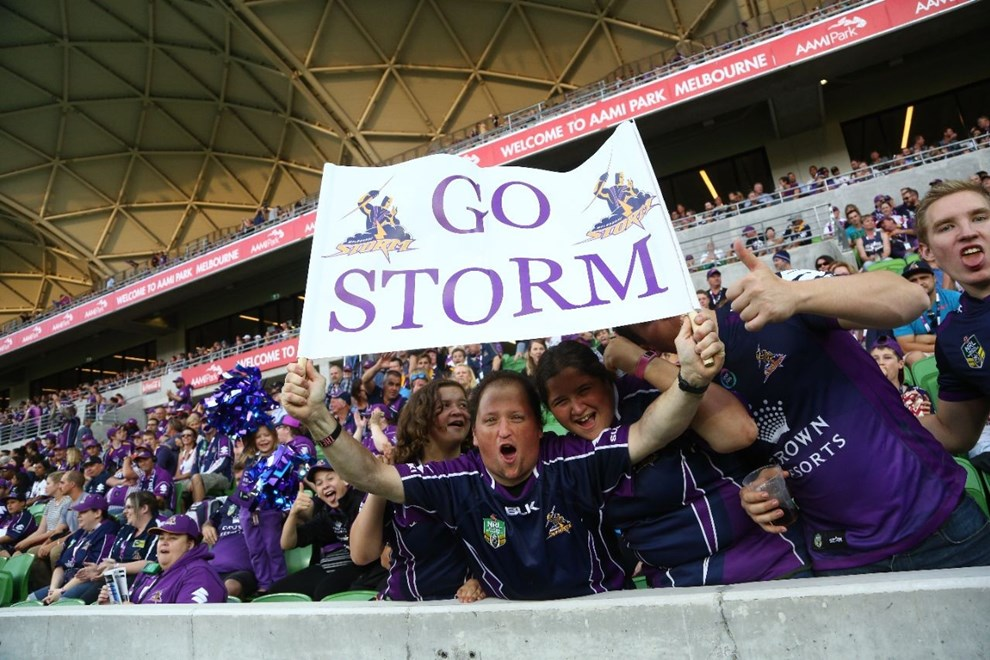 NRL Premiership - Round 02 - Melbourne Storm V Gold Coast Titans - 13 March 2016 - AAMI Park, Melbourne, Vic - Ian Knight