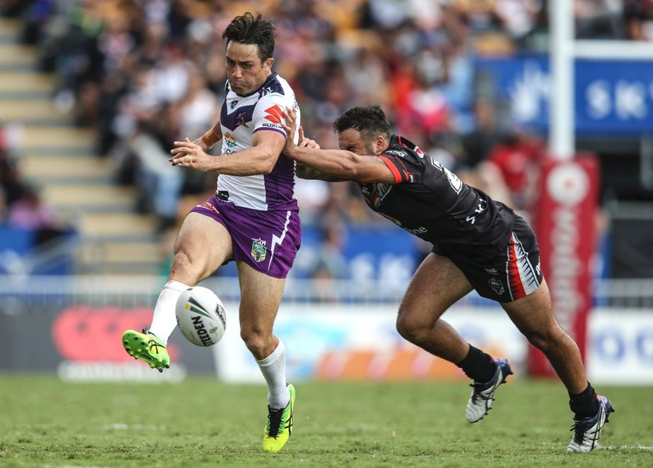 Competition - NRL Premiership Round - Round 03 Teams – NZ Warriors v Melbourne Storm Date – 20th of March 2016 Venue – Mt Smart Stadium, Auckland, NZ Photographer – Simon Watts