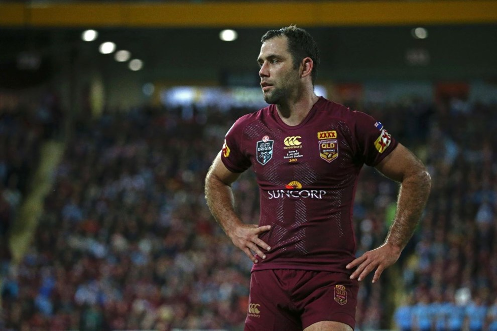Cameron Smith (c)   Digital Image by Brett Crockford ©nrlphotos.com :	    NRL, Rugby League, State of Origin 3,  Queensland v New South Wales @ Suncorp Stadium, Brisbane, QLD Wednesday 08 July, 2015.