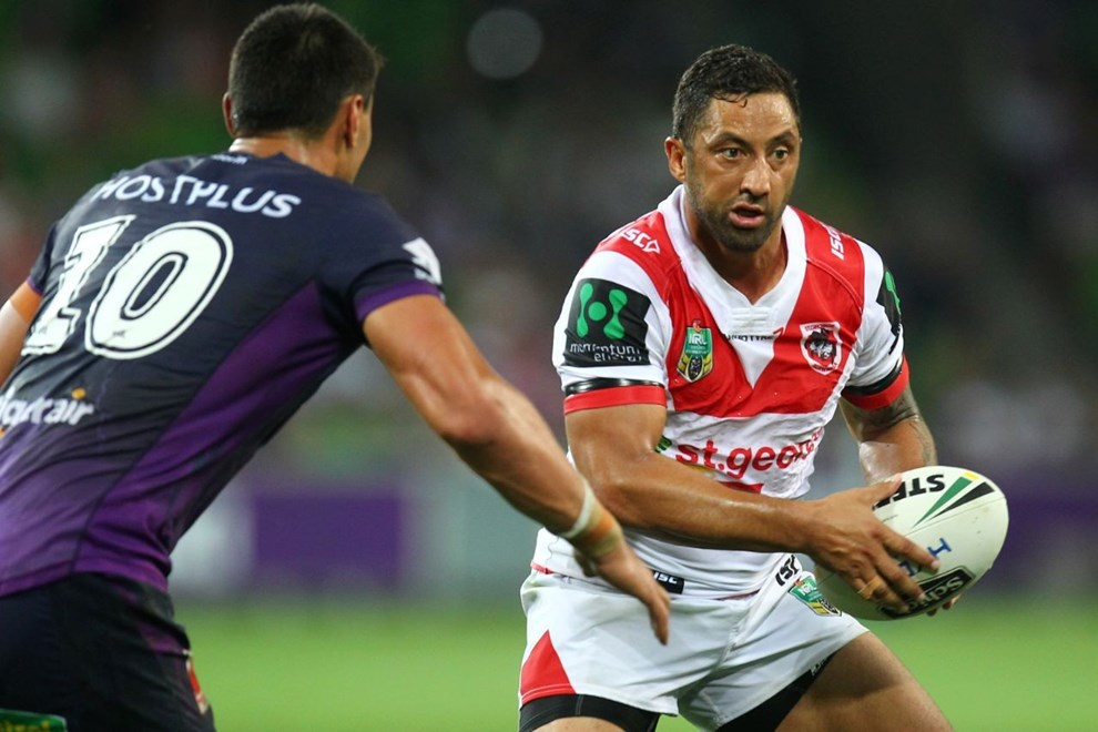 NRL Premiership - Round 01 - Melbourne Storm V St George Dragons - 07 March 2016 - AAMI Park, Melbourne, Vic - Ian Knight