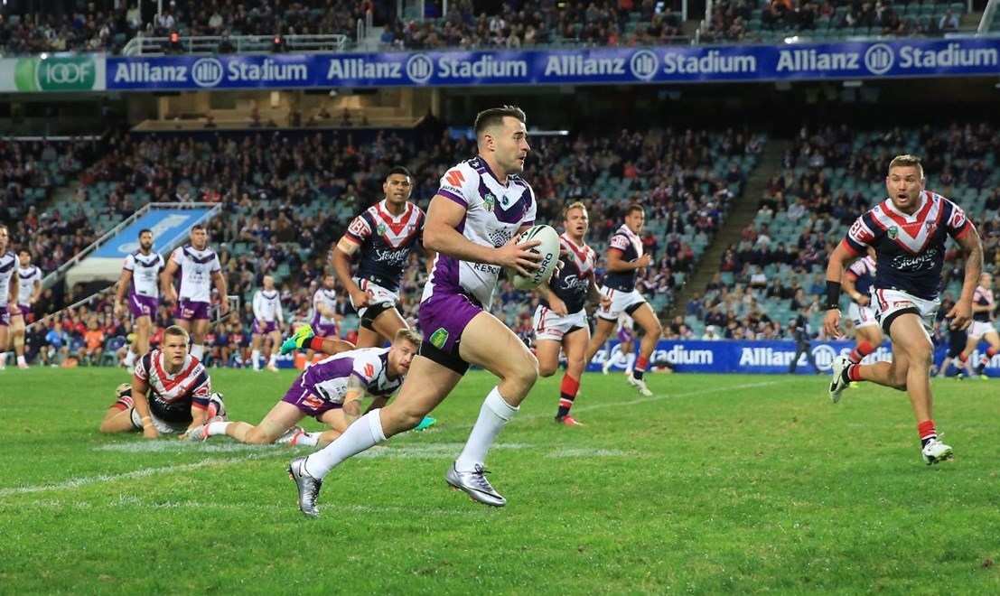 Competition - NRL Round - 14 Teams – Roosters V Storm Date – 11th of June 2016 Venue – Allianz Stadium Photographer – Robb Cox