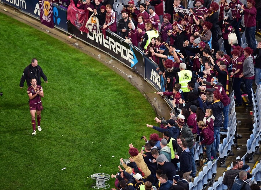State of Origin  - Game 1  - New South Wales V Queensland  - 01 June 2016  - ANZ Stadium, Sydney, NSW  - Scott Davis