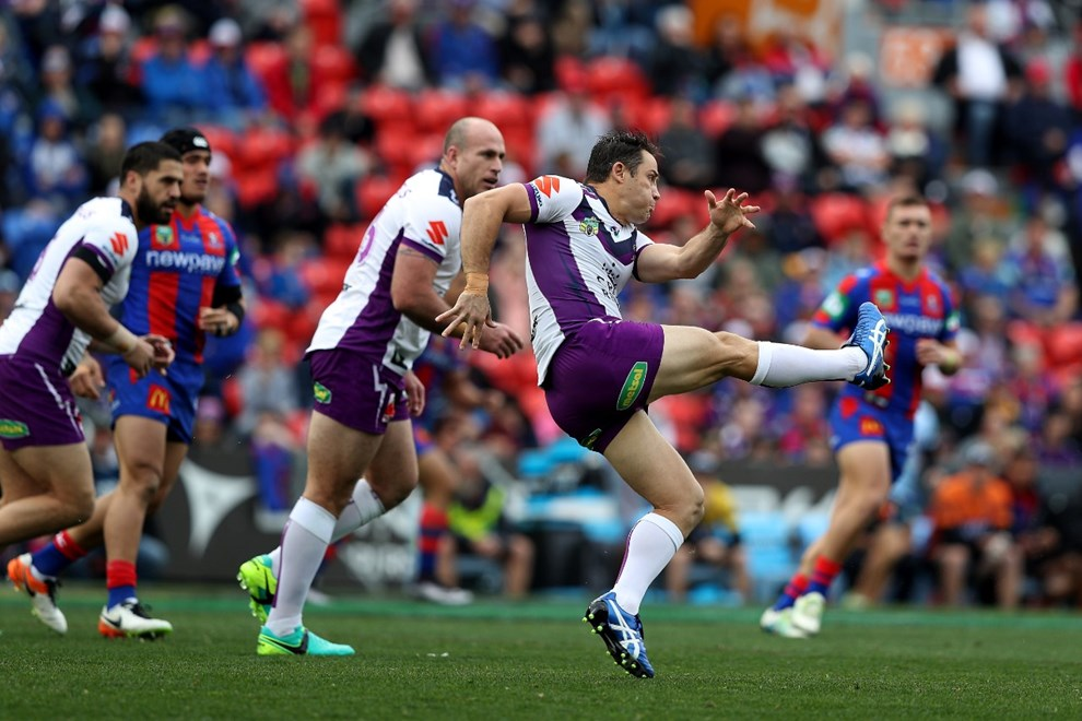 NRL Premiership - Round 19, Newcastle Knights v Melbourne Storm - Sunday 17 July 2016, Hunter Stadium Broadmeadow NSW - Photographer Shane Myers © nrlphotos.com