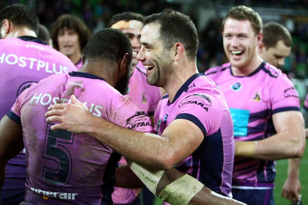 NRL Premiership - Round 22 - Melbourne Storm V South Sydney Rabbitohs - 6 August 2016 - AAMI Park, Melbourne, Vic - Ian Knight