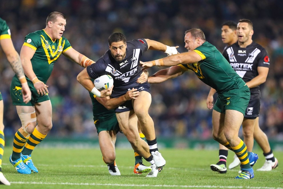 Competition - International Rugby League -Downer Test Match.  Round - May Representative Round.  Teams - Australian Kangaroos v New Zealand Kiwis.  Date - Friday 6th of May 2016.  Venue - Hunter Stadium