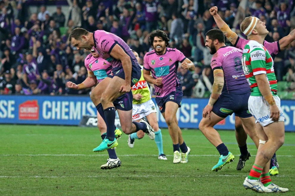 Competition - NRL Round - Round 22 Teams – Melbourne Storm v South Sydney Rabbitohs Date –    6th of August 2016 Venue – AAMI Park