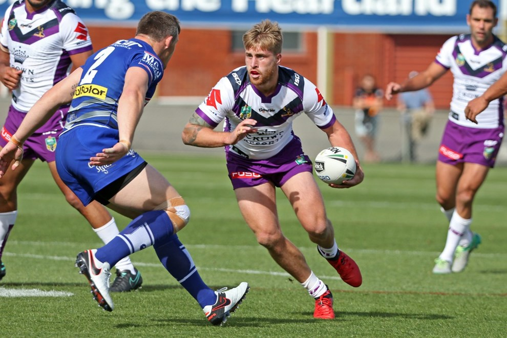 Competition - NRL Round - Practice Match Teams – Melbourne Storm v Canterbury-Bankstown Bulldogs Date –    18th of February 2017 Venue – North Hobart Oval