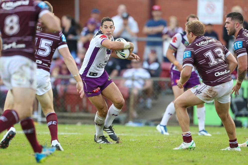 Competition - NRL. Round - Round 7. Teams - Manly-Warringah Sea Eagles v Melbourne Strom. Date - 15th of April 2017. Venue - Lottoland