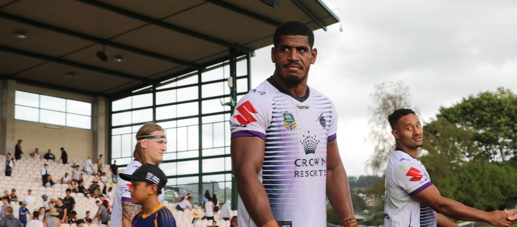 In Pictures: Storm v Warriors