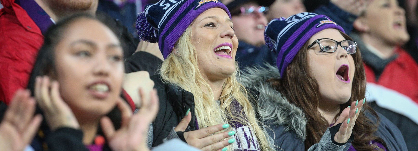 Join the Storm supporter bay in Perth!