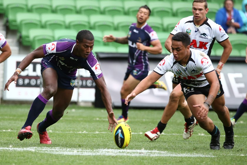 Suliasi Vunivalu joined Melbourne Storm in 2014 and his rise has been rapid.