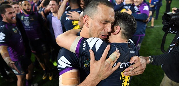 Chambers reveals 'roomie' Slater