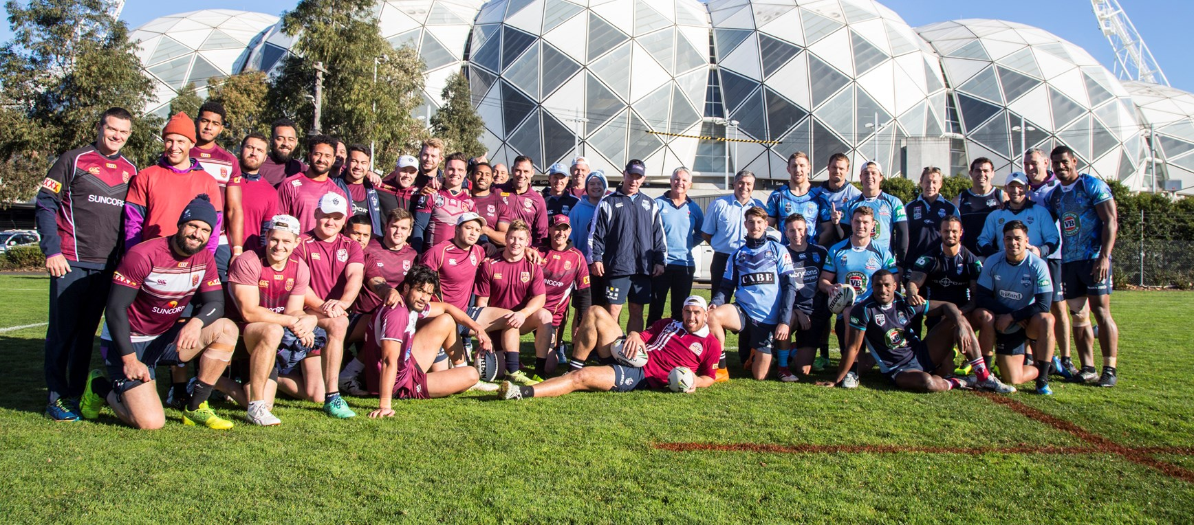 Origin fever hits Melbourne