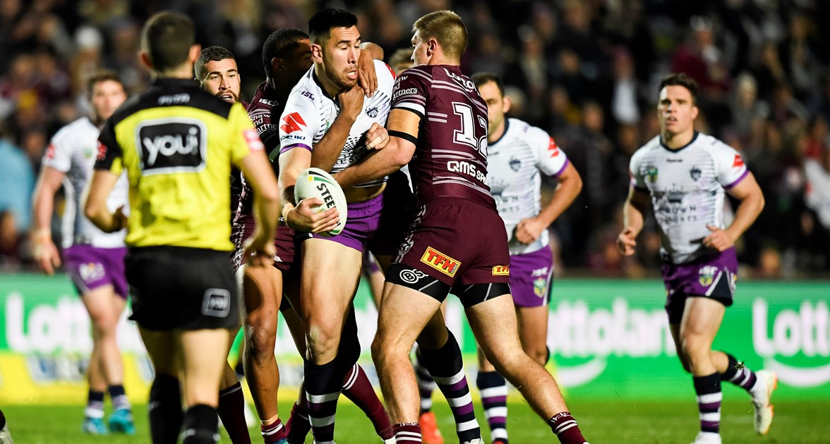Storm snatch it from the Sea Eagles at Brookvale