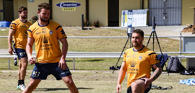 In Pictures: Gold Coast training camp