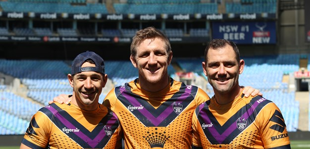 In Pictures: Grand Final Captain's Run