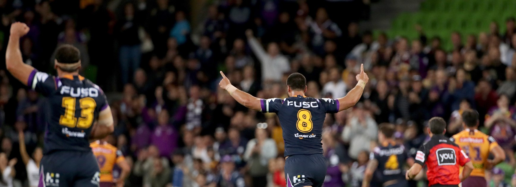 "Jesse Bromwich deals with ""stupid mistake"", follows with big try"