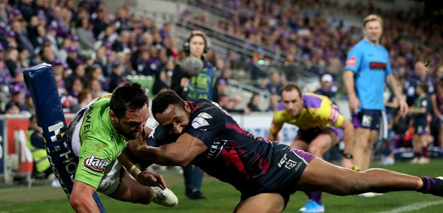 Incredible Raiders comeback stuns Storm in Melbourne