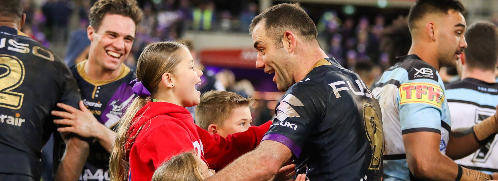 Cameron Smith vying for Sports Dad of the Year