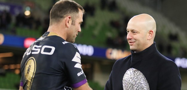 Melbourne Storm media statement - Todd Greenberg
