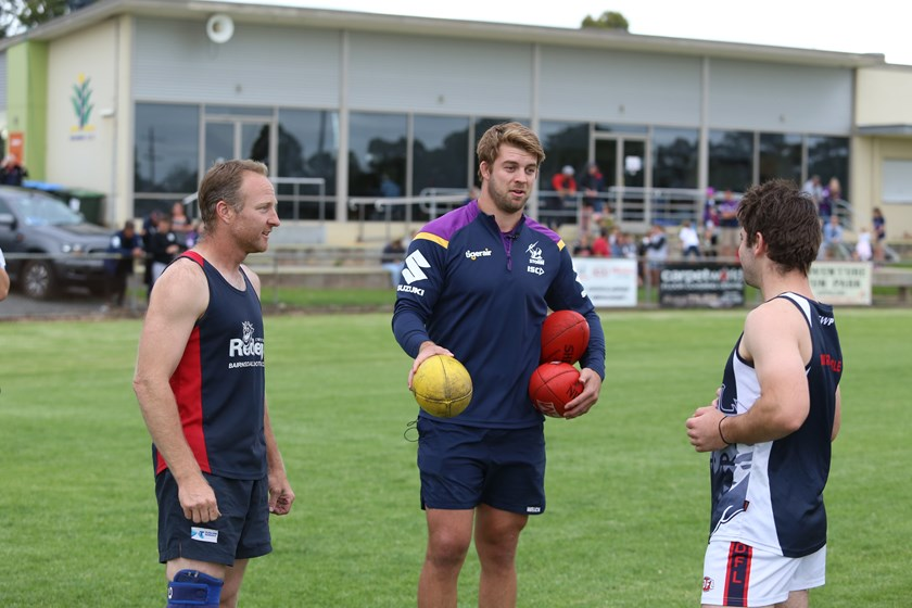Christian Welch at Bairnsdale Football and Netball Club.