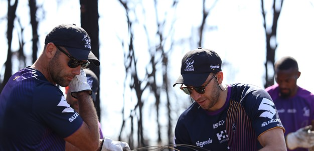 Melbourne Storm help fire-ravaged communities in East Gippsland, Bega