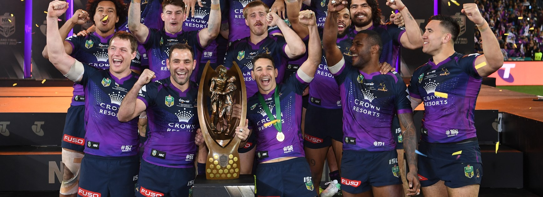 Melbourne Storm Team of the Decade boasts Cameron Smith, Billy Slater, Cooper Cronk
